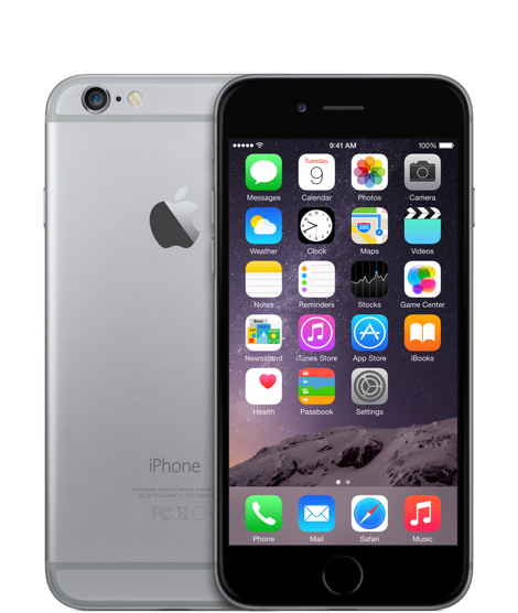 Apple iPhone 6 64GB Space Grey (Черный/Серый)