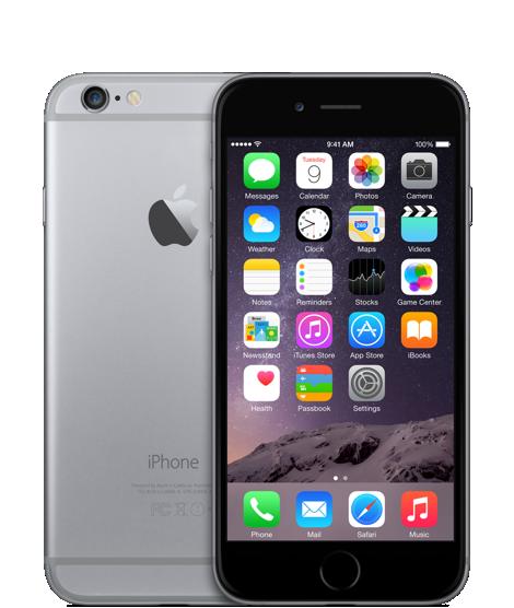 Apple iPhone 6 16GB Space Grey (Черный/Серый)