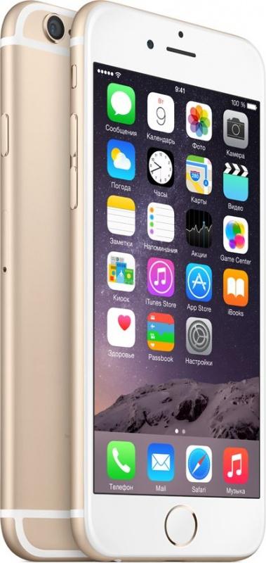 Apple iPhone 6 Plus 16GB как новый (золотистый)