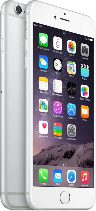Apple iPhone 6 Plus 16GB Silver как новый (Белый/Серебристый)