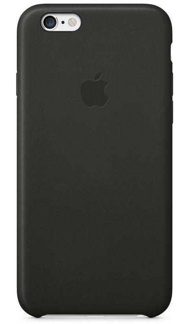 Клип-кейс Apple кожаный для iPhone 6 чёрный