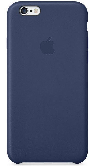 Клип-кейс Apple кожаный для iPhone 6 тёмно-синий