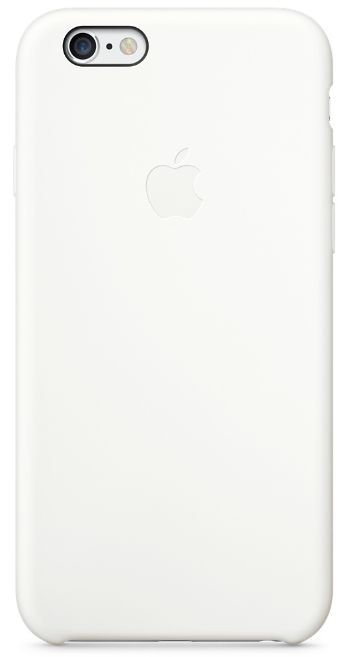 Клип-кейс Apple силиконовый для iPhone 6 белый