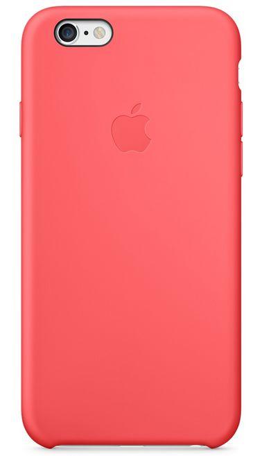Клип-кейс Apple силиконовый для iPhone 6 коралловый