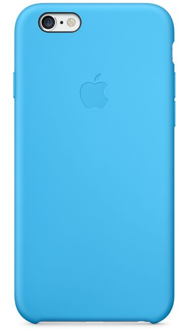 Клип-кейс Apple силиконовый для iPhone 6 голубой