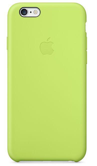 Клип-кейс Apple силиконовый для iPhone 6 зеленый