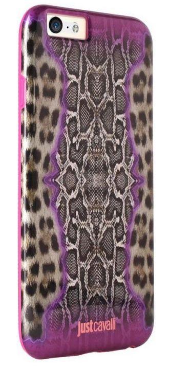 Клип-кейс Just Cavalli Pink для iPhone 6