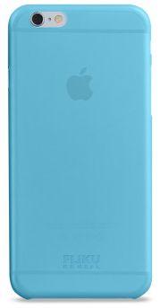 Чехол клип-кейс тонкий FLIKU ULTRA SLIM CASE для iPhone 6 голубой