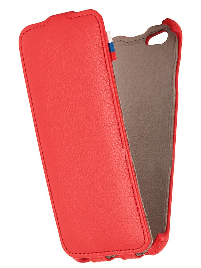 Чехол флип-кейс Armor Full для iPhone 6 (красный)