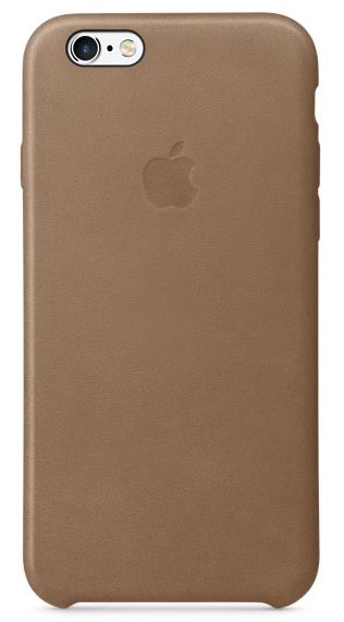 Кожаный чехол для iPhone 6s – коричневый