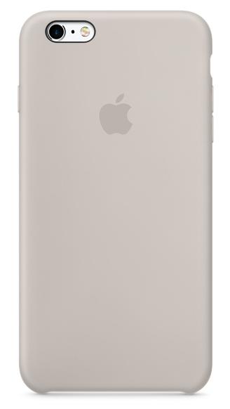 Силиконовый чехол для iPhone 6s – бежевый
