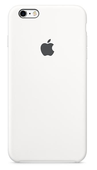 Силиконовый чехол для iPhone 6s – белый