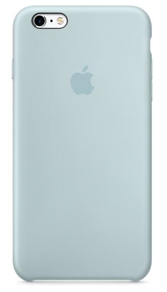 Силиконовый чехол для iPhone 6s – бирюзовый