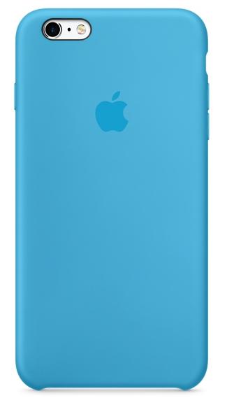 Силиконовый чехол для iPhone 6s – голубой (MKY52ZM/A)
