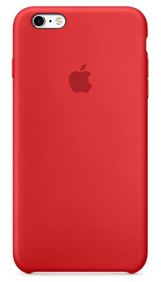 Силиконовый чехол для iPhone 6s – (PRODUCT)RED