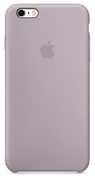 Силиконовый чехол для iPhone 6s – сиреневый