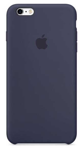 Силиконовый чехол для iPhone 6s – тёмно-синий