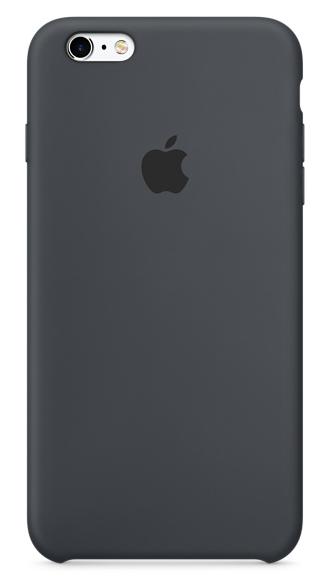 Силиконовый чехол для iPhone 6s – угольно-серый