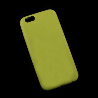 Клип-кейс Apple для iPhone 6 (4,7) Leather Case оливково-желтый (копия)