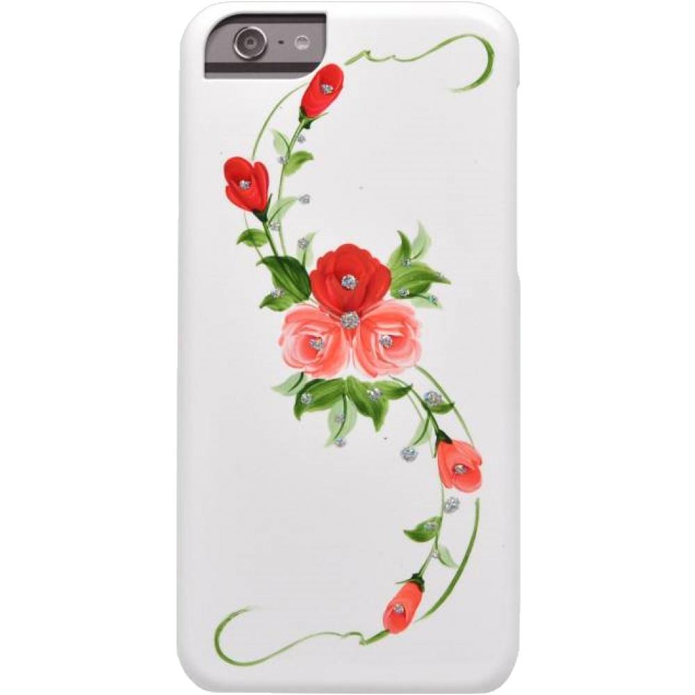 Чехол клип-кейсIcover Vintag Rose для iPhone 6/6s (розовый,белый)