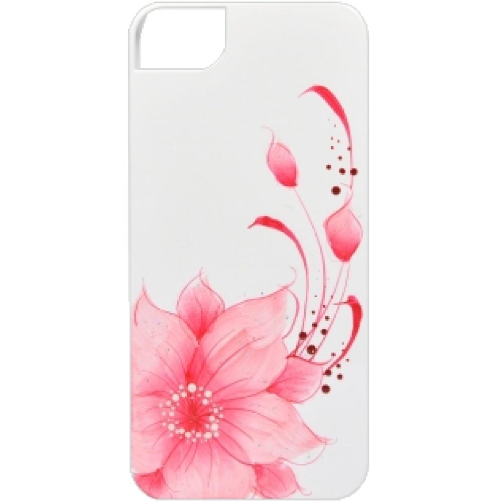 Чехол клип-кейс Icover Flower для iPhone 6/6s (розовый)