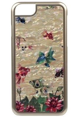 Чехол клип-кейс iCover Mother of Pearl Fish Golg для iPhone 6/6S (золотой)