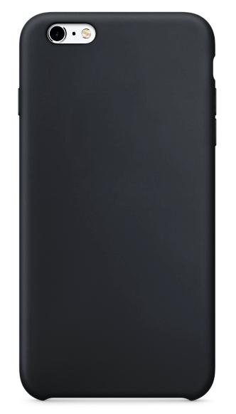 Чехол клип-кейс силиконовый чехол для Apple iPhone 6/6S угольно-серый (реплика)