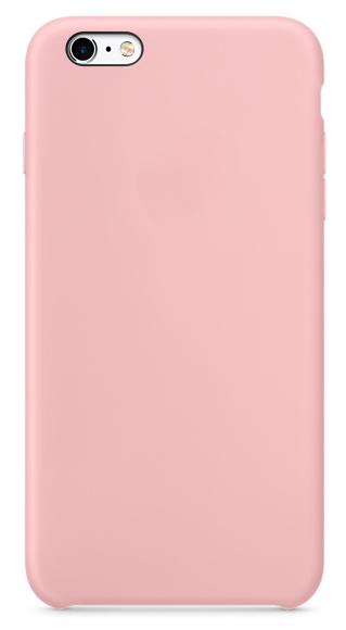 Чехол клип-кейс силиконовый для Apple iPhone 6/6S розовый-песок(реплика)