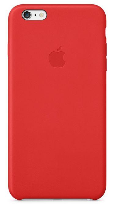 Клип-кейс Apple кожаный для iPhone 6 Plus красный (MKXG2ZM/A)
