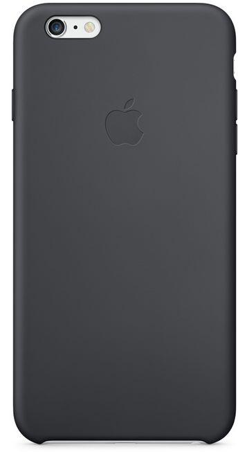 Клип-кейс Apple силиконовый для iPhone 6 Plus угольно-серый