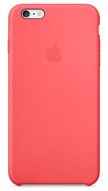 Клип-кейс Apple силиконовый для iPhone 6 Plus коралловый