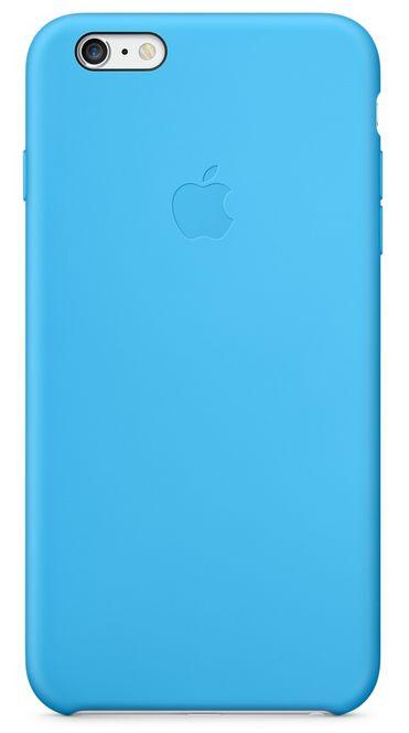 Клип-кейс Apple силиконовый для iPhone 6 Plus голубой