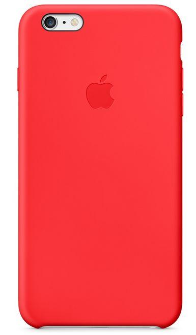 Клип-кейс Apple силиконовый для iPhone 6 Plus красный
