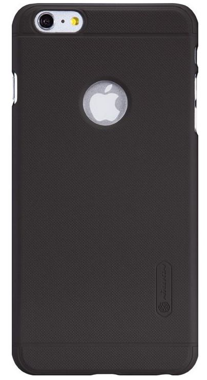 Чехол клип-кейс  Nillkin Super Frosted Shield для iPhone 6 (черный) + защитная пленка