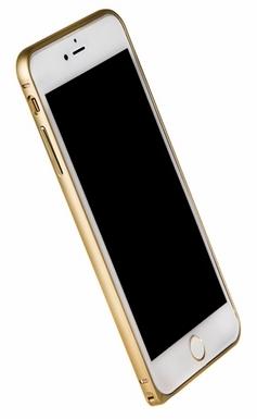 "Бампер металлический LOVE MEI для iPhone 6 Plus 5.5"" золотистый"