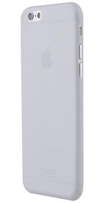 Чехол клип-кейс Fliku Ультратонкий для iPhone 6 Plus (прозрачный)