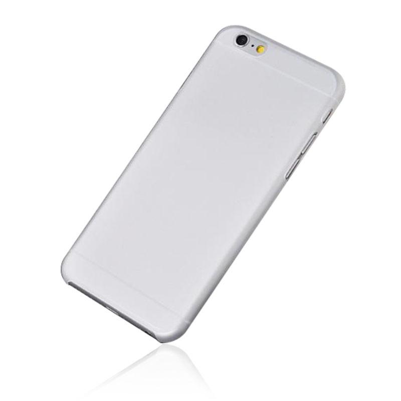 Чехол JustCase Zero 0.3 mm для iPhone 6 Plus (белый)