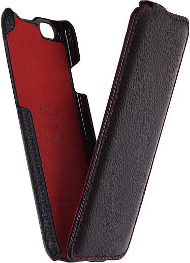 Чехол - книжка iRidium для iPhone 6 Plus /6s Plus из натуральной кожи (черный)