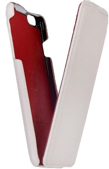 Чехол - книжка iRidium для iPhone 6 Plus /6s Plus из натуральной кожи (белый)