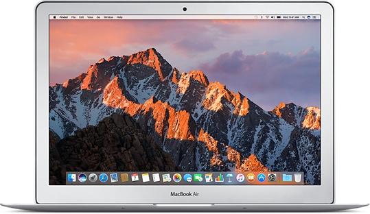 "Ноутбук Apple MacBook Air 13"" 1,8Ghz/8Gb/256Gb (MQD42) (серебристый) 2017г."
