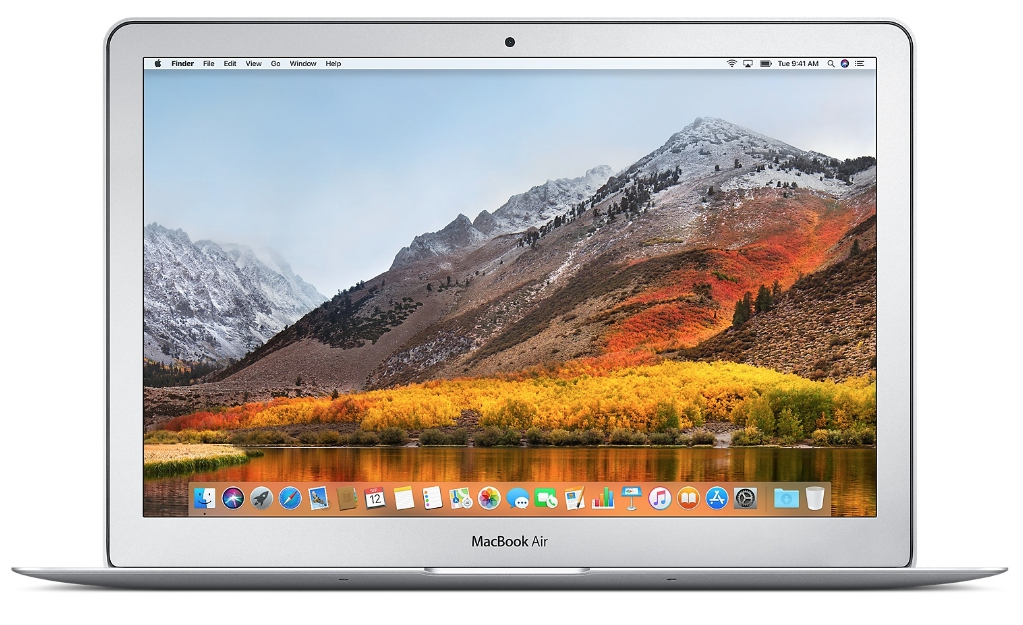 "Ноутбук Apple MacBook Air 13"" 1,8Ghz/8Gb/128Gb (MQD32) (серебристый) 2017г."