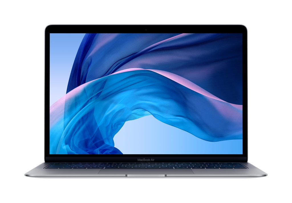 "Ноутбук Apple MacBook Air 13"" 1,6Ghz/8Gb/128Gb (MRE82) (space grey) 2018г."