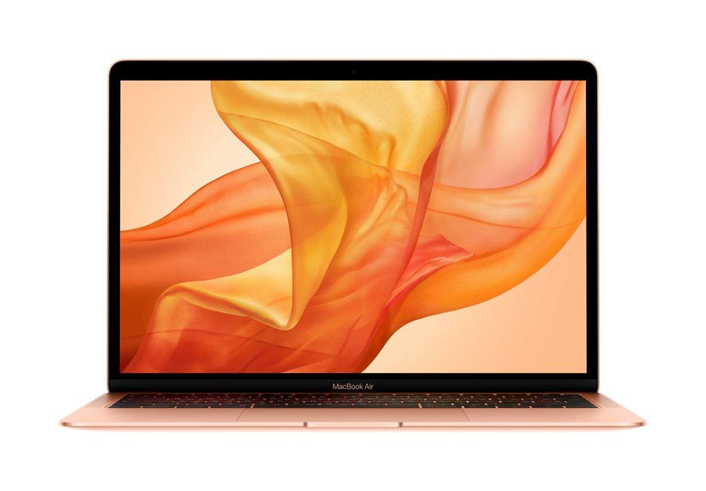 "Ноутбук Apple MacBook Air 13"" 1,6Ghz/8Gb/256Gb (MREF2) (gold) 2018г."