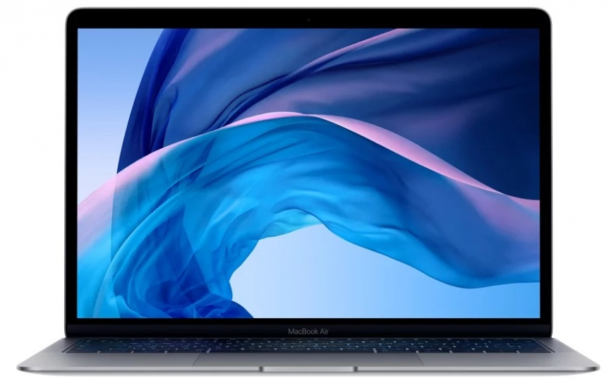 "Ноутбук Apple MacBook Air 13"" 1,6Ghz/8Gb/128Gb space grey (MVFH2) 2019г."