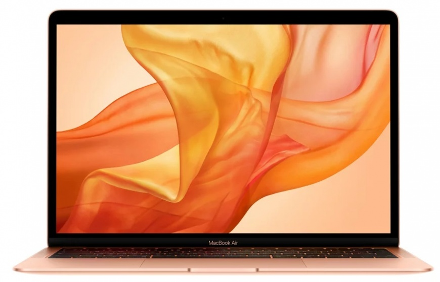 "Ноутбук Apple MacBook Air 13"" 1,6Ghz/8Gb/256Gb gold (MVFN2) 2019г."