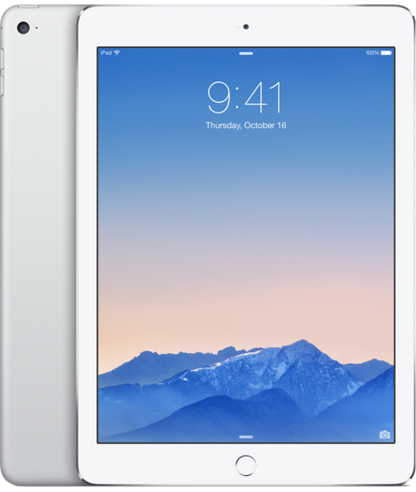 Планшет Apple iPad Air 2 Wi-Fi + 4G (Cellular) 16GB Silver