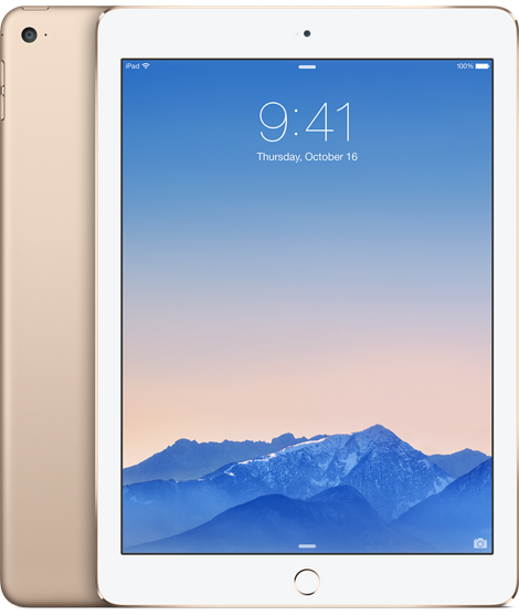 Планшет Apple iPad Air 2 Wi-Fi + 4G (Cellular) 128GB Gold