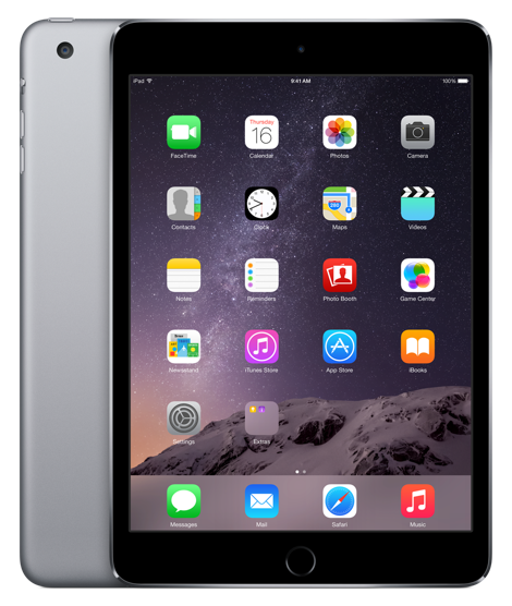 Планшет Apple iPad Mini 3 Wi-Fi 16GB Space Grey