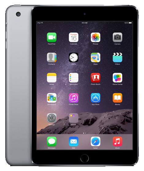 Планшет Apple iPad Mini 3 Wi-Fi 16GB Space Grey