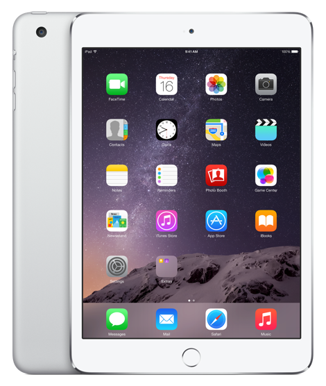 Планшет Apple iPad Mini 3 Wi-Fi  + Cellular 64GB Silver